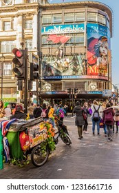 London. November 2018. A view of the Les Miserables show in London