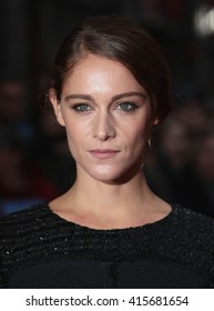 LONDON - OCT 13, 2015: Ariane Labed attends The Lobster premiere, 59th BFI London Film Festival on Oct 13, 2015 in London