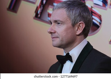 LONDON - OCT 17, 2015: Martin Freeman attends the BFI London Film Festival Awards in London