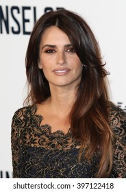 LONDON - OCT 3, 2013: Penelope Cruz attends a special screening of The Counselor at the Odeon West End on Oct 3, 2013 in London