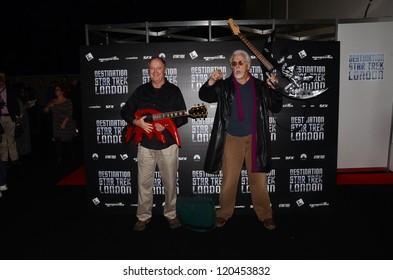 LONDON - OCTOBER 19: Actor Robert O'Reilly And JG Hertzler  Attends Destination Star Trek England's Largest Ever Star Trek Convention October 19, 2012 in London, England.