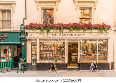 London October 2018. A view of Paul Rothe sandwich store in Marylebone in London