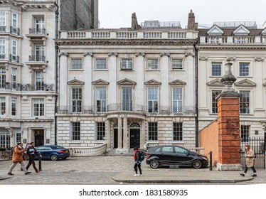 London, October 24, 2018 - 57 & 58 Lincoln's Inn Fields, Law Offices of Garden Court Chambers.