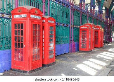 London red telephone - phone booths in England.