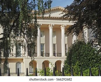 London, Regency period mansion near Regent's Park