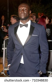 LONDON - SEP 05, 2017: Stormzy attends the GQ Men of the Year Awards at theTate Modern in London