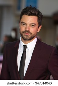 LONDON - SEP 17, 2015: Dominic Cooper attends the Miss You Already film premiere on Sep 17, 2015 in London