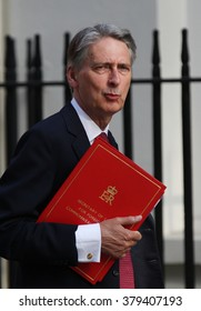 LONDON - SEP 2, 2014: Philip Hammond seen at Downing street on Sep 2, 2014 in London