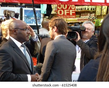 LONDON - SEPT 16: Zac Efron At The Death And Life Of Charlie St Cloud Premiere September 16, 2010 in Leicester Square London, England.
