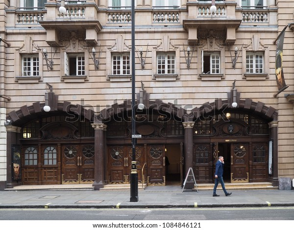 LONDON - SEPTEMBER 2016:  The London Coliseum Theatre in St. Martin's Lane is the home of the English National Opera
