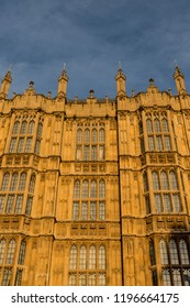London. September 2018. The Palace of Westminster also known as The Houses of Parliament in Westminster in London