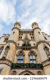 London. September 2018. A view of The Westminster Sanctuary building in Westminster in London