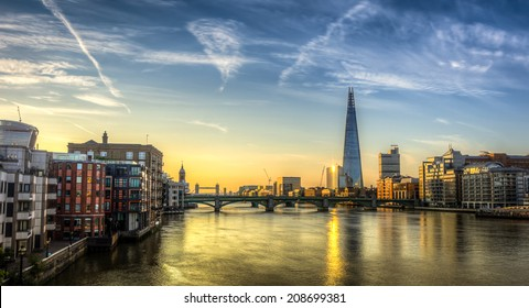 London Skyline HDR