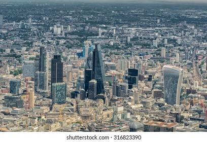 London skyline, UK.