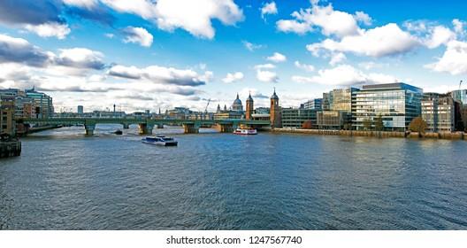 London Southwark Bridge View