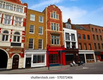London Southwark old brick buildings in England