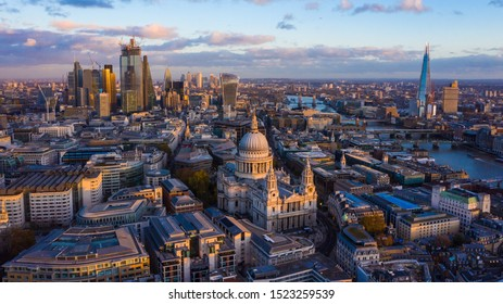 London with st Pauls Cathedral
