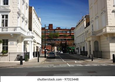 London street, Corner Moreton Street and Belgrave Road