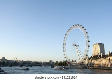 London in sunny day