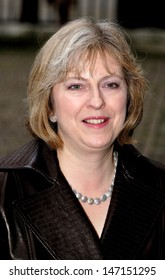 London. Theresa May at the Women's Own Children of Courage Awards at Westminster Abbey. 13 December 2006 Keith Mayhew/Landmark Media