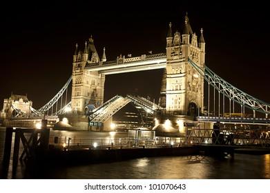 London Tower Bridge Open Night