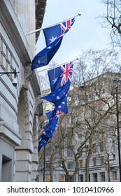 London / UK - 01-26-2018: High Comission centenary celebration of  opening the Australia House in London 100 years ago