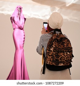 London, UK. 09 May, 2018. The Design Museum, Association Azzedine Alaïa and Maison Alaïa invite you to the media preview of Azzedine Alaïa: The Couturier.