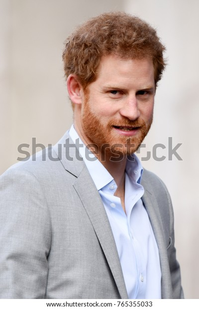 London, UK. 16 March, 2017. Prince Harry attends the Veterans' Mental Health Conference at Kings College London.
