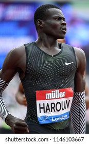 London, UK. 21 July, 2018. Abdalleleh HAROUN wins the MEN'S 400M at the IAAF Diamond League, Muller Anniversary Games.