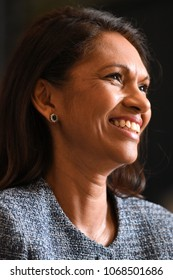 London, UK. 23 March, 2018. Gina Miller (Businesswoman and Transparency Activist) at the Liberal Democrats Brexit Event.