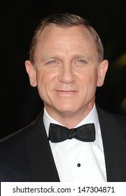 London, UK.  231012. Daniel Craig at the Royal World Premiere of the film Skyfall held at the Royal Albert Hall in Kensington. 23 October 2012.