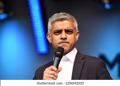 London, UK. 29 April, 2017. For the past two years the festival has taken place in City Hall and More London Riverside. Sadiq Khan pledged to bring the celebration back to Trafalgar Square.