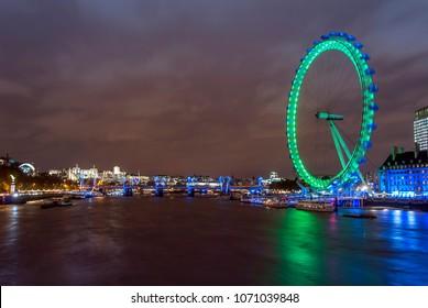 London, UK, 31 October 2012: London Eye
