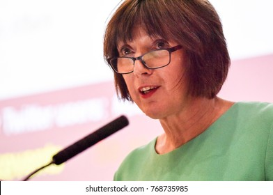 London, UK. 31 October, 2017. No More Cake and Eat it with Frances O'Grady, General Secretary of the British Trades Union Congress, at the London School of Economics and Political Science.