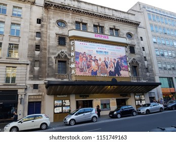 london UK 4 August 2018 Empire Cinema