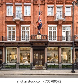 LONDON UK - 5 OCTOBER 2017 The shop front of the china silverware & Royal Door Images Stock Photos \u0026 Vectors | Shutterstock