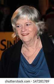 London, UK. Ann Widdecombe at the Opening Night of 'Singing in the Rain', held at the Palace Theatre, Shaftesbury Avenue. 15th February 2012.
