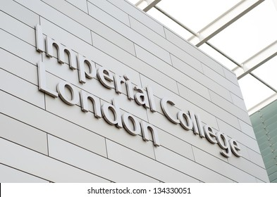 LONDON, UK - APR 7: Imperial College London on April 7, 2013 in London, UK. It is ranked 3rd in Europe and 8th in the world according to The Times Higher Education World University Rankings 2012-13.