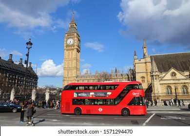 LONDON, UK - APRIL 23, 2016: People visit Big Ben in London, UK. London is the most populous city and metropolitan area of the European Union with 9,787,426 people in 2011.