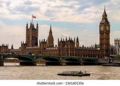 London, UK, August 12th 2012. Houses of Parliament where the debate on the UK in euro is taking place