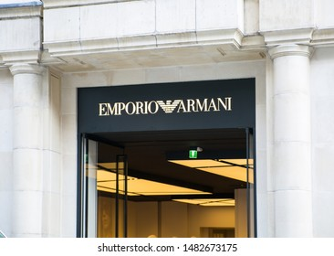 9692579a Armani Logo Images, Stock Photos & Vectors | Shutterstock