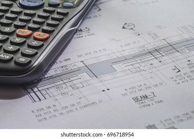 Blueprint architecture images stock photos vectors shutterstock detail view of architectural and structural construction drawings malvernweather Image collections