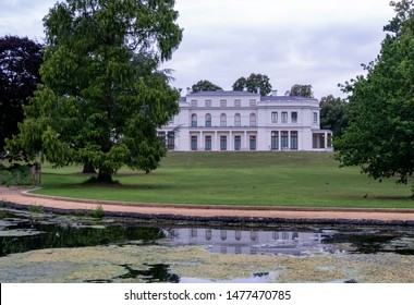 London UK, August 2019. Newly renovated Gunnersbury Park and Museum on the Gunnersbury Estate, once owned by the Rothschild family, now owned by Hounslow and Ealing Councils.