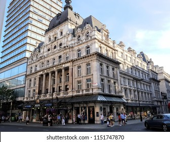 London UK August 4 2018 Her Majesty's Theatre