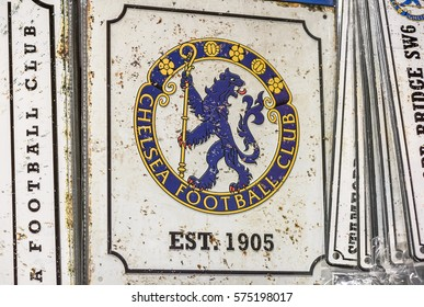 London, the UK - ay 2016: Visiting the official store of FC Chelsea