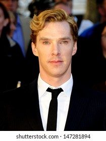 London. UK . Benedict Cumberbatch  at the premiere of the film Tinker, Tailor, Soldier, Spy held at the BFI South Bank theatre. 13th September 2011.  S