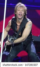 London, UK. Bon Jovi continue their 12 date residency at London's 02 Arena.  Bon Jovi are: Jon Bon Jovi, Richie Sambora, Tico Torres and David Bryan. 19th June 2010. Keith Mayhew/Landmark Media .
