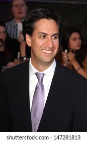 London. UK . British Labour party leader Ed Milliband   at the  Pride of Britain Awards  2011 at the Grosvenor House Hotel, Park Lane, London. 3rd  October 2011.