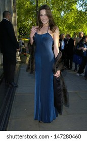 London. UK. Carla Bruni at the Sony Radio Academy Awards, held at the Grosvenor House Hotel. 30th April 2007.