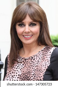 London, UK. Carol Vorderman launches the A/W 2013 collection for Isme.com, Dean Street, London. 22nd May 2013.